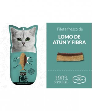 Filete Fresco de Atún y Fibra : Antibolas de pelo