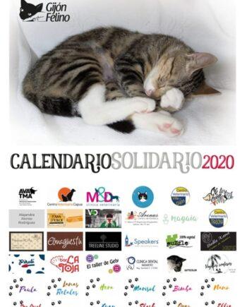 Calendario Solidario Gijón Felino