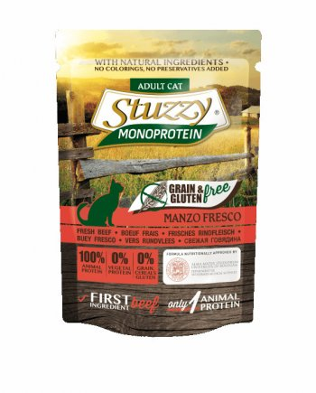 Stuzzy Sobres Monoproteicos Buey