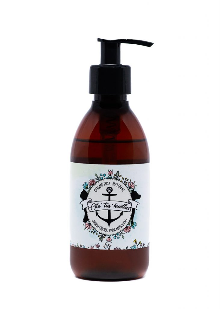 Jabón líquido Natural Ole tus huellas