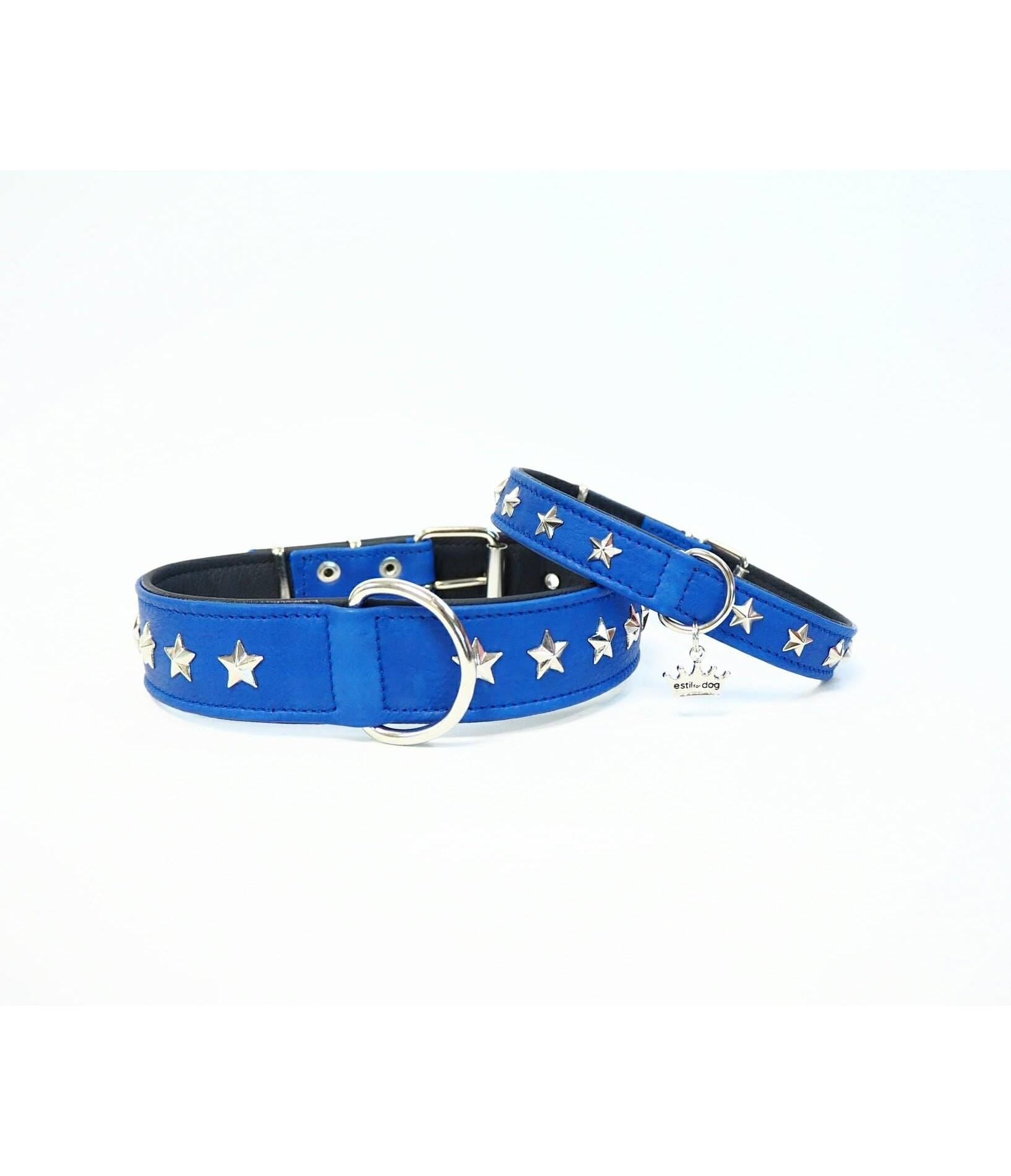 Collar Blue Stars