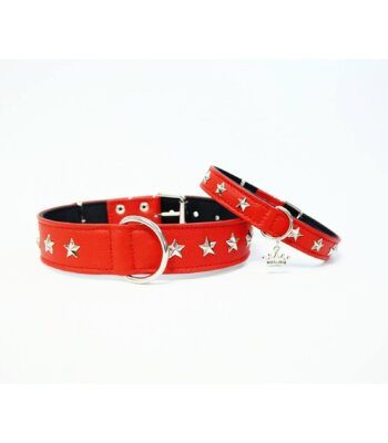 Collar Red Star