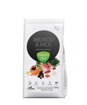 Natura Diet Cerdo Ibérico y Arroz