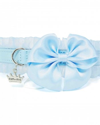 Collar Fashion Bow Azul
