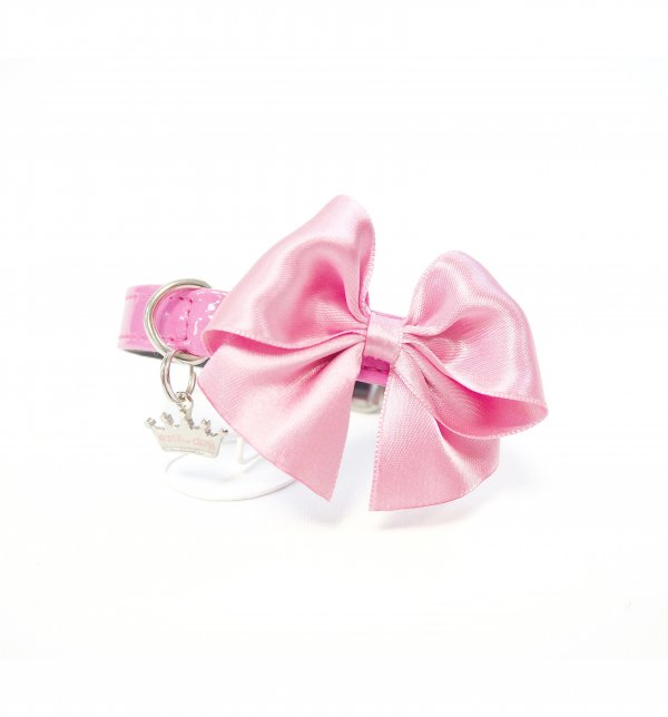 Collar Romantic Top Rosa