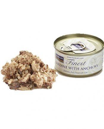 Lata Fish4Cats Finest Sardina con Anchoa