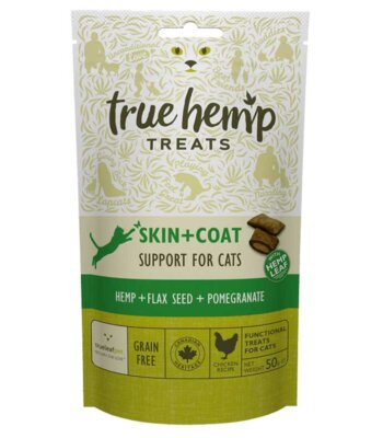 True Hemp Premios Skin & Coat Para Gatos