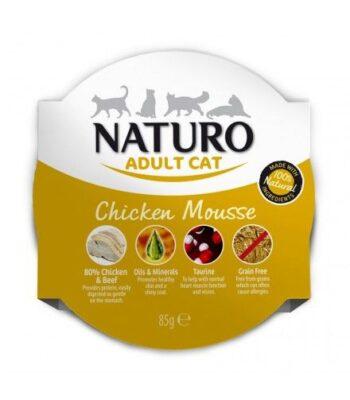 Naturo Mousse Pollo para gatos