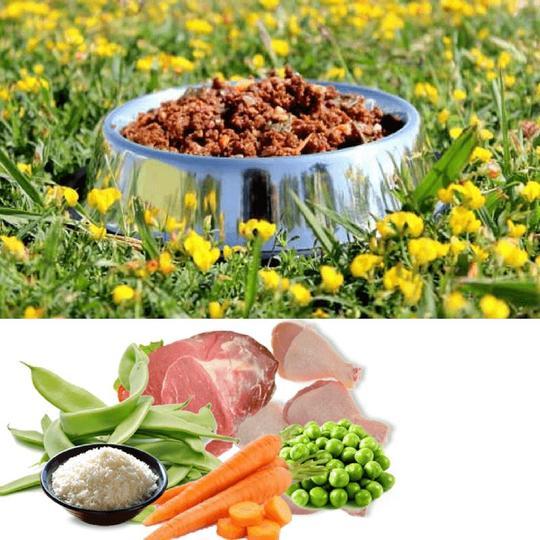 Knatur, Cordero, Pollo y Verduras