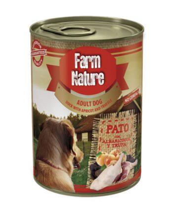 Farm Nature Pato con Albaricoque y Trufa (400gr)