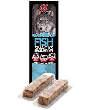 Alpha Spirit Tacos de pescado para perros