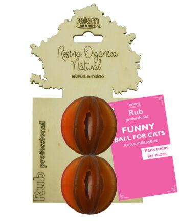 Juguete Natural Rub Funny Balls