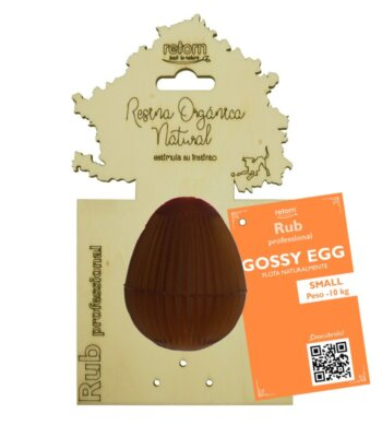 Juguete Natural Gossy Egg