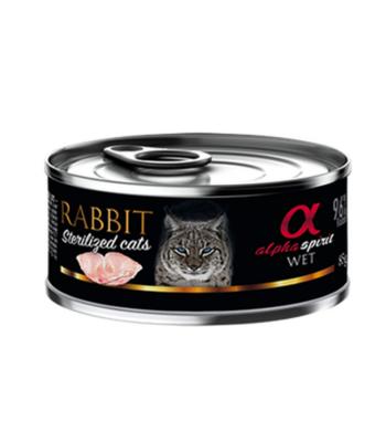 Alpha Spirit Conejo para gatos