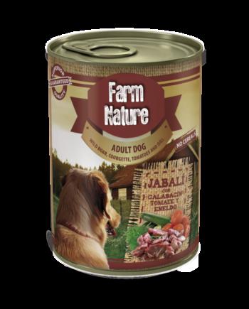 Farm Nature Jabalí con Calabacín (400gr)