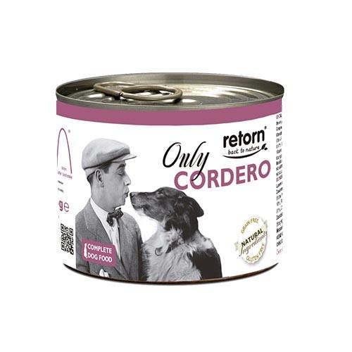 Lata Retorn Only Cordero: para perros