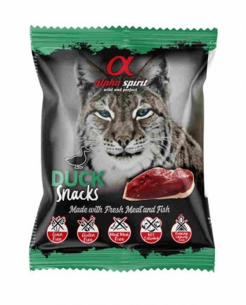 Alpha Spirit Snacks Pato para gatos