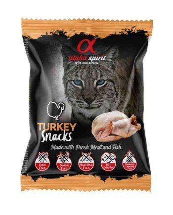Alpha Spirit Snacks pavo para gatos