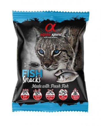 Alpha Spirit Snacks Pescado para gatos
