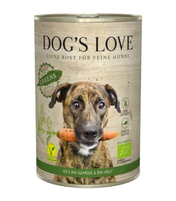 Dog´s Love BIO Greens Frutas y Verduras