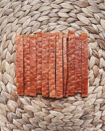Lenguas de Salmón con Zanahoria