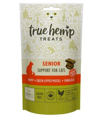 True Hemp Premios Senior Para Gatos