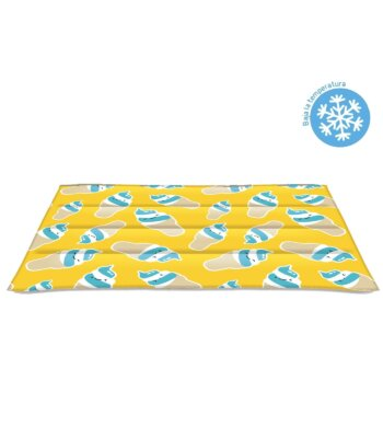 Alfombra refrescante Ice Cream Blue