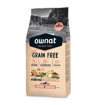 Ownat Just Grain Free Salmón y Marisco