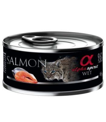 Alpha Spirit Salmón para Gatos
