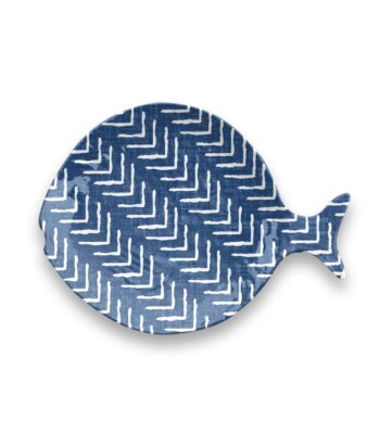 Plato Indigo Fish