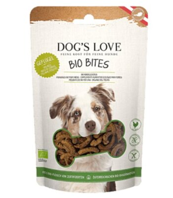 Dog's Love Bio Bites Pollo y Pavo