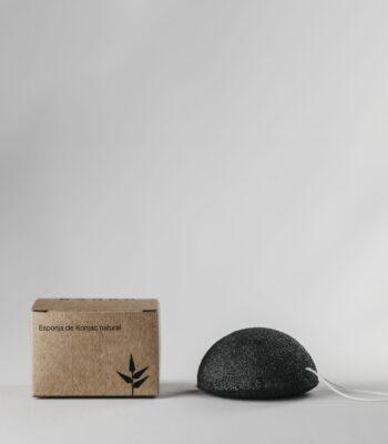 Esponja Konjak con Carbón activado