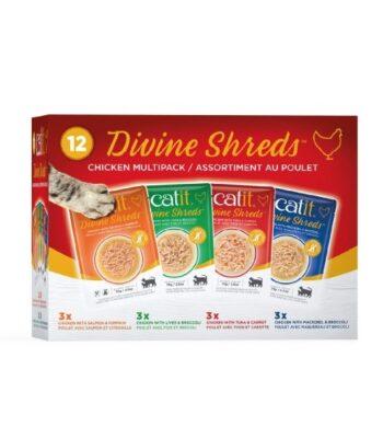 Catit Divine Sopas Multipack de Pollo