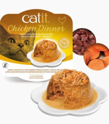 Catit Pollo, Hígado de pollo y Boniato