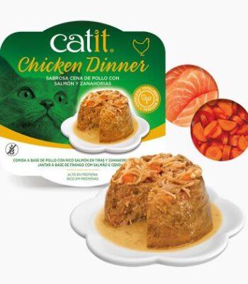 Catit Pollo, Salmón y Zanahorias