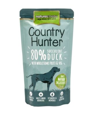 Natures Menu Country Hunter Pato 150 gr