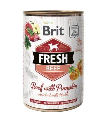 Brit Fresh Receta de Carne de Vaca y Calabaza