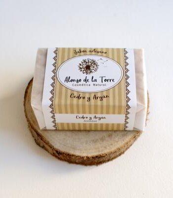 Jabón Artesano Natural de Cedro y Argán