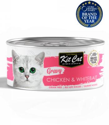 Kit Cat Lata Pollo con Chanquetes en salsa