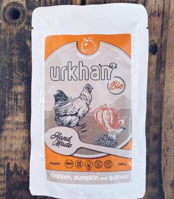 Urkhan Cat-BIO Pollo con Calabaza
