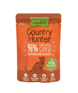 Natures Menu Country Hunter Pouch Pollo y Ganso