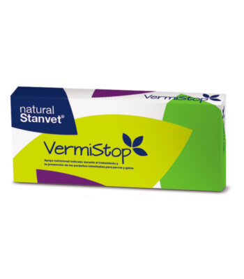 Vermistop - Antiparasitario natural interno