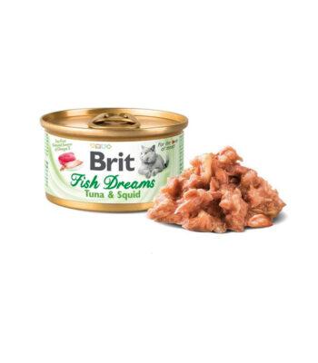 Brit Fish Dreams Atún y Calamar