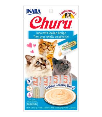 Churu® Puré Receta de Atún con Vieiras