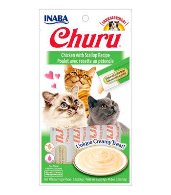 Churu® Puré Receta de Pollo con Vieiras