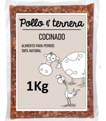 Menú Cocinado Guau&Cat Pollo y Ternera