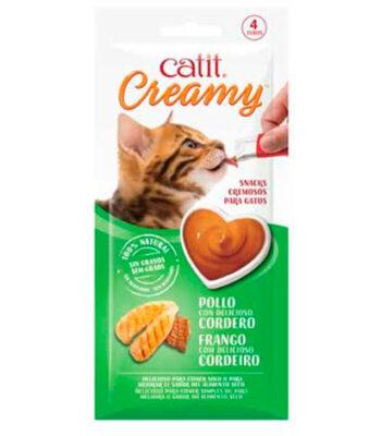 Catit Creamy Receta de Pollo y Cordero