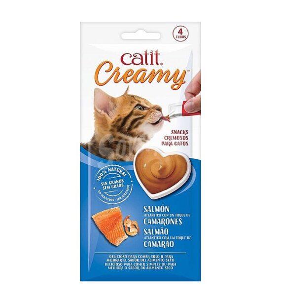 Catit Creamy Receta de Salmón y Gambas