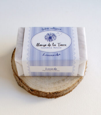 Jabón Artesano Natural de Lavanda