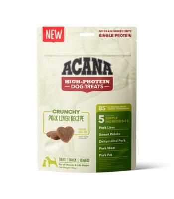 Acana Snacks Crunchy - Hígado de cerdo